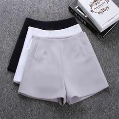 Ashlee - Flat Front Shorts