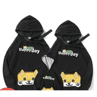 D-SEVEN - Family Matching Animal Cartoon Hoodie