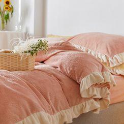 Sharemily - Ruffle Trim Bedding Set