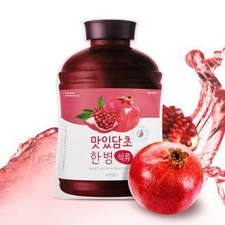 A'PIEU - Fruit Vinegar Sheet Mask (Pomegranate) 1pc