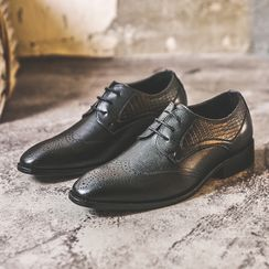 ZIPHO - Brogue Lace-Up Shoes