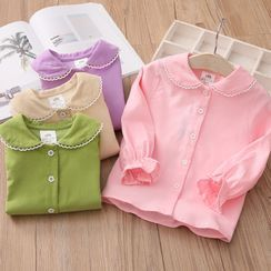 Seashells Kids - Kids Long-Sleeve Corduroy Blouse