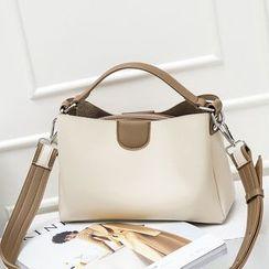 Annmuu - Color Block Handbag