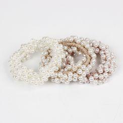 Sesori - Faux Pearl Hair Tie