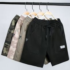 Andrei - Letter Tag Shorts