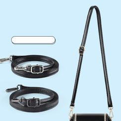 KEZUJIA - Faux Leather Shoulder Carrying Strap for Crossbody Bag