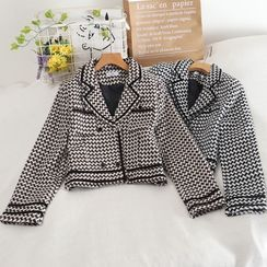Pinatra - Double-Breasted Patterned Blazer