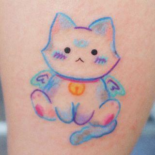 METZ - Cat Waterproof Temporary Tattoo