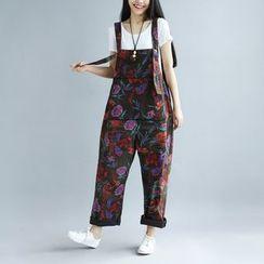 YORU - Floral Jumper Pants