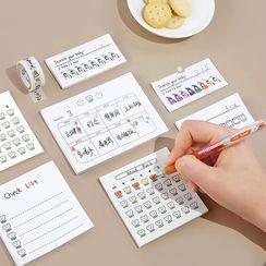 Cute Essentials - Printed Memo Pad