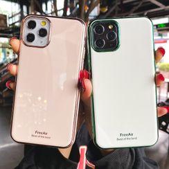 Casei Colour - Plain Phone Case - iPhone 11 Pro Max / 11 Pro / 11 / XS Max / XS / XR / X / 8 / 8 Plus / 7 / 7 Plus / 6s / 6s Plus