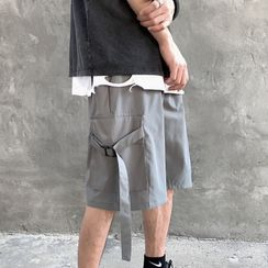 百高 - 寬腿工裝短褲