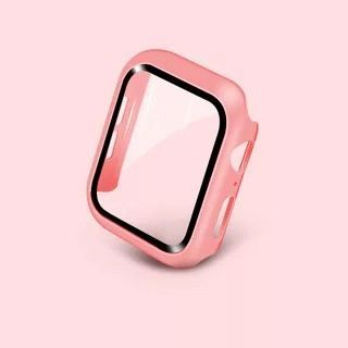 Phone in the Shell - Tempered Glass Screen Protector Apple Watch Protection Case