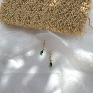 Mojia - Gemstone Drop Earring