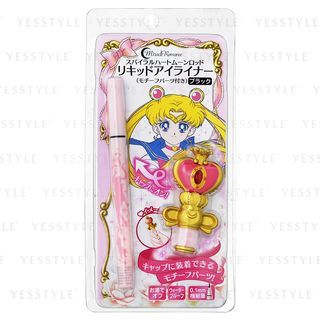 Creer Beaute - Sailor Moon Miracle Romance Liquid Eyeliner (Spiral Coeur Lune Rod) (Noir) (Limited Edition)
