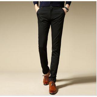 Kieran - Plain Slim-Fit Pants