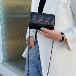 Faneur(ファナー) - Mini Quilted Chain Crossbody Bag