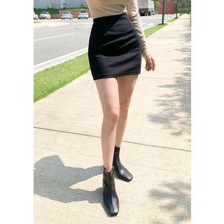 chuu - Mini Pencil Skirt in 5 Colors