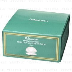JMsolution(ジェイエムソリューション) - Marine Luminous Pearl Deep Moisture Eye Patch