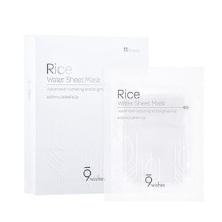 9wishes - Rice Water Sheet Mask