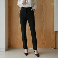 Styleberry - Straight-Cut Dress Pants