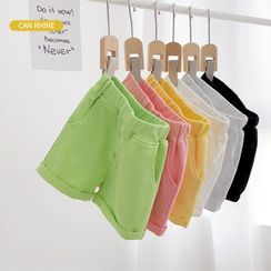 Shaneebabe - Kids High-Waist Shorts