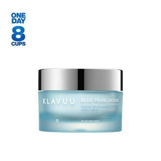 KLAVUU - Blue Pearlsation One Day 8 Cups Marine Collagen Aqua Cream 50ml