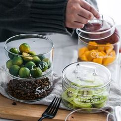 Evebe - Food Storage Glass Jar / Lid