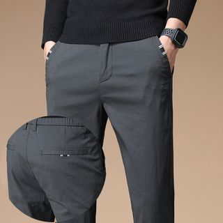 LuJillo - Cropped Tapered Pants