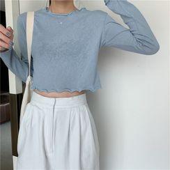 Serendipitous - 長袖短款上衣