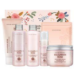 NATURE REPUBLIC - Bulgarian Rose Skin Care Special Set