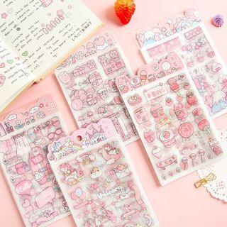 SASHI - Cartoon Print PET Sticker