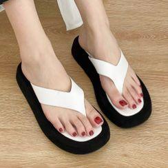 Zensha - Platform Flip Flops