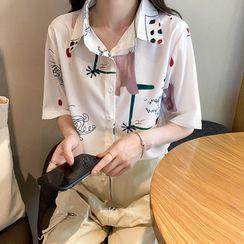 Chubchubs - 印花短袖襯衫