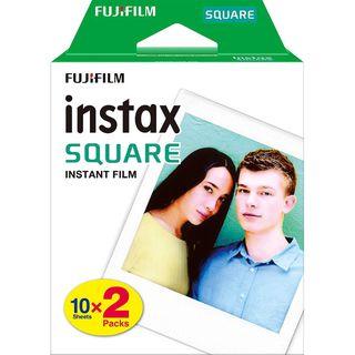 Fujifilm - Fujifilm Instax Square Film (20 Sheets per Pack)