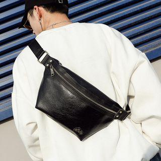 ETONWEAG - Faux Leather Sling Bag