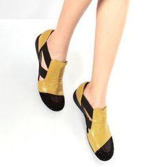 Freesia - 网纱低跟轻便鞋
