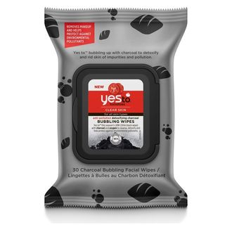 Yes To - Yes To Tomatoes: Detoxifying Charcoal Anti-Pollution Bubbling Wipes (30pcs)
