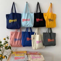 Geolte - Lettering Tote Bag
