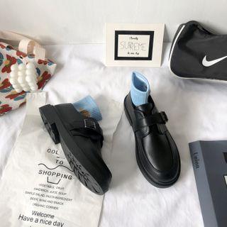 Stevvi - Plain Buckled Loafers