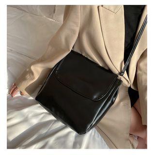 Perlin - Faux Leather Crossbody Bag