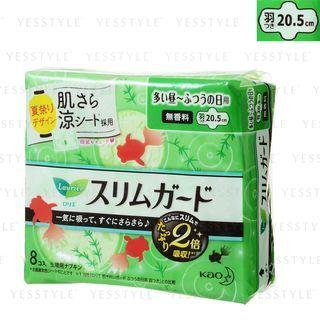 花王 - 乐而雅快速姐纤细卫生巾 20.5cm