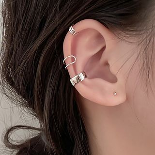 Zilverzmith - Plain Ear Cuff