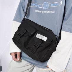 SUNMAN - Lightweight Buckled Crossbody Bag