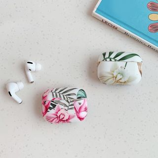Quivier - Floral Print AirPods / Pro Earphone Case Cover