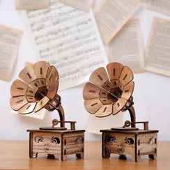 Foresty - Wooden Phonograph Music Box