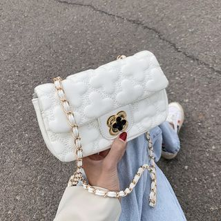 BAGUS - Quilted Flap Chain Crossbody Bag