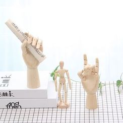 Foresty - Wooden Manikin / Hand Manikin Ornament (various designs)