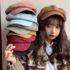Cappello - Faux Suede Beret Hat