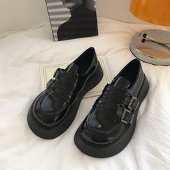 DURAC(デュラック) - Buckled Platform Loafers
